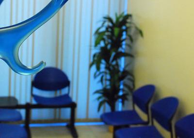 Sala d'attesa punto prelievi